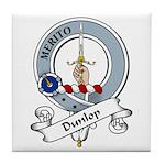 Dunlop Clan Badge Tile Coaster