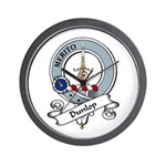 Dunlop Clan Badge Wall Clock