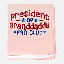 GRANDDADDY FAN CLUB baby blanket