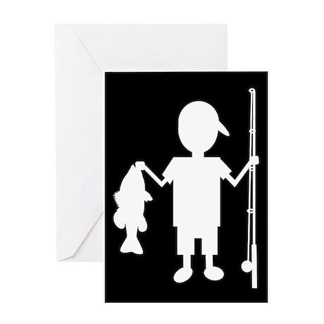THE REEL BOY Greeting Card