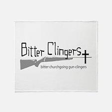 Bitter Clingers Throw Blanket