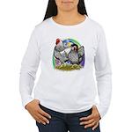 Easter Egg Wyandottes Women's Long Sleeve T-Shirt