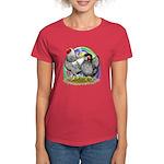 Easter Egg Wyandottes Women's Dark T-Shirt