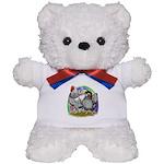 Easter Egg Wyandottes Teddy Bear