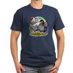 Easter Egg Wyandottes Men's Fitted T-Shirt (dark)