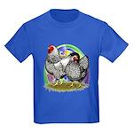 Easter Egg Wyandottes Kids Dark T-Shirt