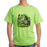 Easter Egg Wyandottes Green T-Shirt