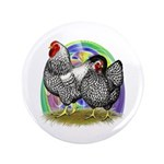 """Easter Egg Wyandottes 3.5"""" Button (100 pack)"""