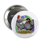 """Easter Egg Wyandottes 2.25"""" Button (10 pack)"""