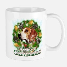 Merry Christmas Foxhound Mug