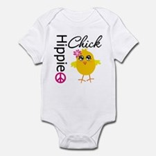 Hippie Chick v2 Infant Bodysuit