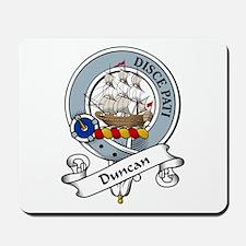 Duncan Clan Badge Mousepad