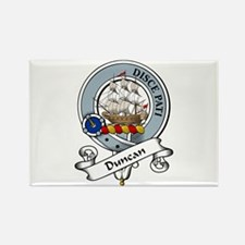Duncan Clan Badge Rectangle Magnet (10 pack)