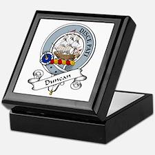 Duncan Clan Badge Keepsake Box
