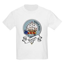 Duncan Clan Badge Kids T-Shirt