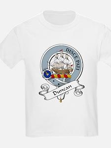 Duncan Clan Badge Kids T-Shirt