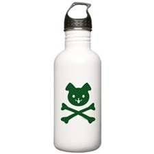 Plaid Doggy Crossbones by Rotem Gear Water Bottle