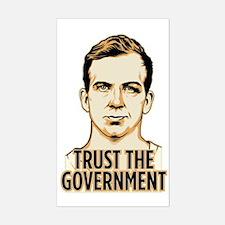 Trust Government Oswald Editi Sticker (Rectangle)