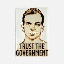 Trust Government Oswald Editi Rectangle Magnet (10
