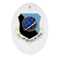92nd ARW Ornament (Oval)