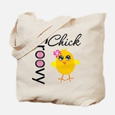 Groovy Chick Tote Bag