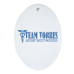 Team Torres SGH Ornament (Oval)