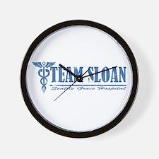 Team Sloan SGH Wall Clock