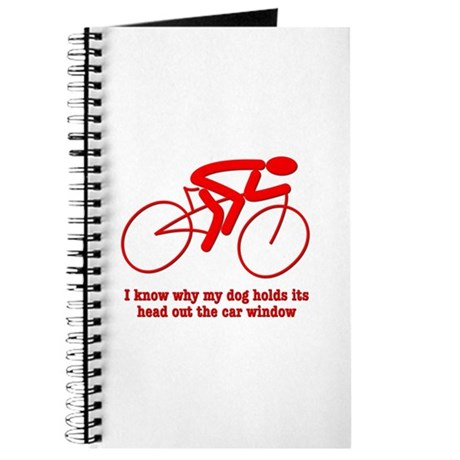Bike Rider Knows How Dog Feels Journal
