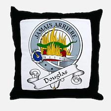 Douglas Clan Badge Throw Pillow