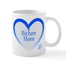 Bichon Blue Heart Mug