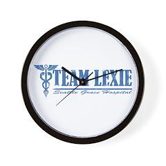Team Lexie SGH Wall Clock