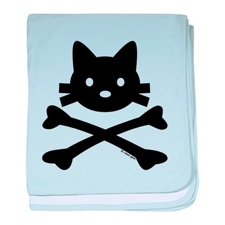 Kitty X-Bones by Rotem Gear baby blanket