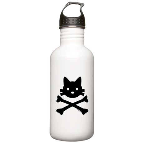 Kitty X-Bones by Rotem Gear Stainless Water Bottle