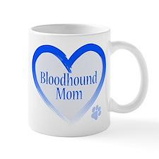 Bloodhound Blue Heart Mug