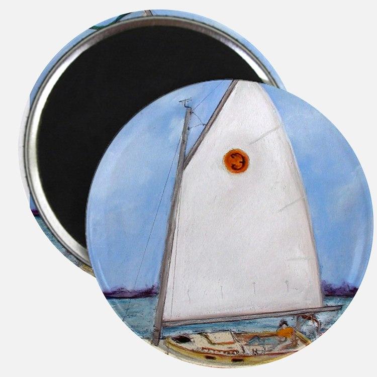 "Catboat 2.25"" Magnet (10 pack)"
