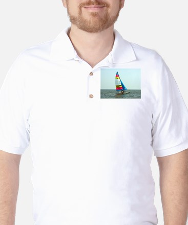 Hobie Cat Golf Shirt