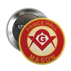 Prince Hall Mason Button