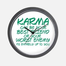 Karma Friend Wall Clock