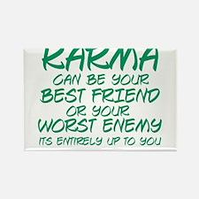 Karma Friend Rectangle Magnet