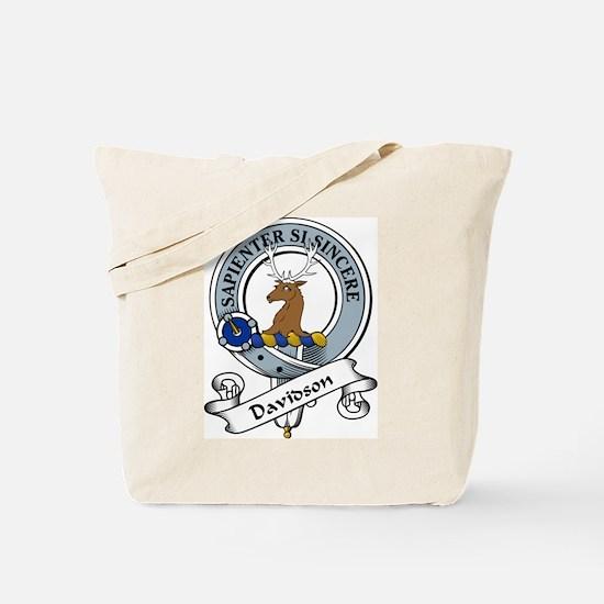 Davidson Clan Badge Tote Bag