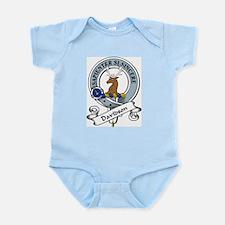 Davidson Clan Badge Infant Creeper