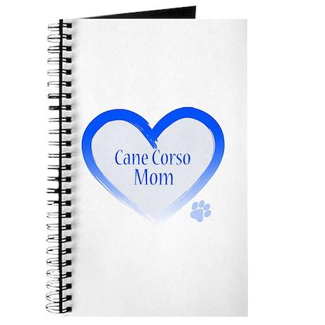 Cane Corso Blue Heart Journal