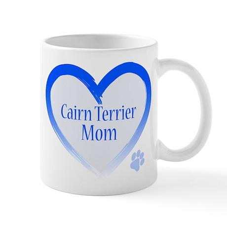 Cairn Terrier Blue Heart Mug