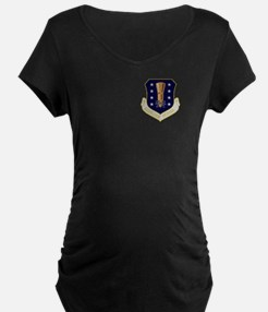 44th Missile Wing Maternity T-Shirt (Dark)