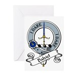 Dalziel Clan Badge Greeting Cards (Pk of 10)