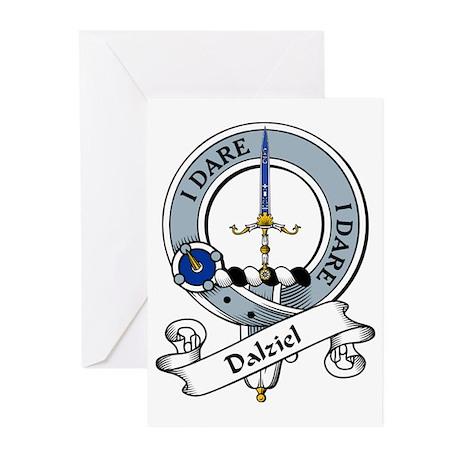 Dalziel Clan Badge Greeting Cards (Pk of 10)