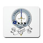 Dalziel Clan Badge Mousepad