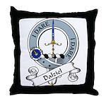 Dalziel Clan Badge Throw Pillow