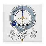 Dalziel Clan Badge Tile Coaster