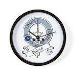 Dalziel Clan Badge Wall Clock
